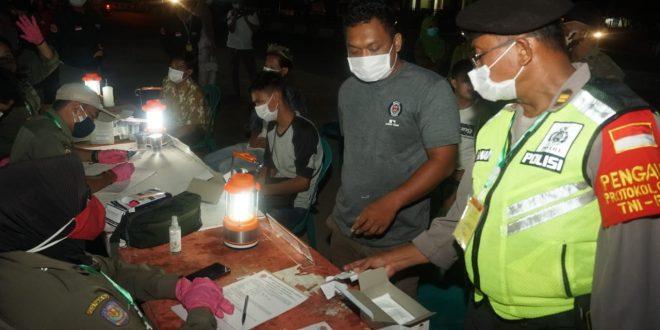 Kegiatan Unit Reaksi Cepat (URC) Divisi Patroli dan Pengawasan Protokol Kesehatan