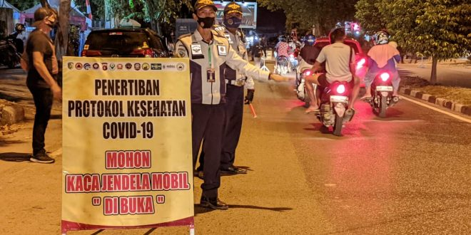 1.934 warga di Kota Palangkaraya, Provinsi Kalimantan Tengah terjaring operasi yustisi
