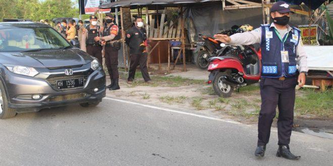 Kegiatan Penindakan Jl. Bukit Keminting dan Jl. Tingang