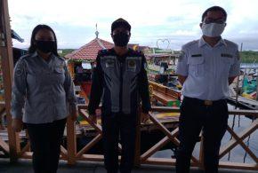 Tegiatan Tim Pengawasan Wisata Kereng Bangkirai wilayah Dermaga Kereng Bangkirai