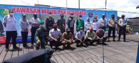 Kegiatan Pengawasan keselamatan transportasi di area Dermaga Kereng Bengkirai
