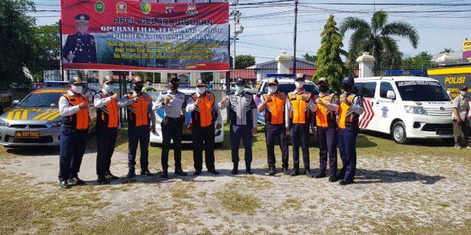 Patroli Berskala Besar Wilayah Kota Palangka Raya